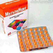 Препарат (лекарство): Мультимакс на сайте Фармацевтическая Web-энциклопедия