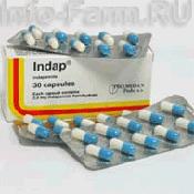 Препарат (лекарство): Индап на сайте Фармацевтическая Web-энциклопедия