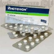 Препарат (лекарство): Инстенон на сайте Фармацевтическая Web-энциклопедия