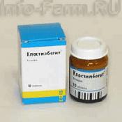 Препарат (лекарство): Клостилбегит на сайте Фармацевтическая Web-энциклопедия