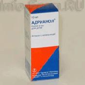 Адрианол для детей