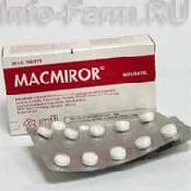 Препарат (лекарство): Макмирор на сайте Фармацевтическая Web-энциклопедия