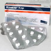 Препарат (лекарство): Конкор кор на сайте Фармацевтическая Web-энциклопедия