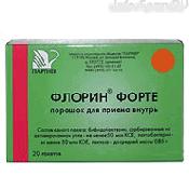 Препарат (лекарство): Флорин Форте на сайте Фармацевтическая Web-энциклопедия