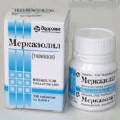 Препарат (лекарство): Мерказолил на сайте Фармацевтическая Web-энциклопедия