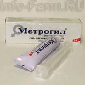 Препарат (лекарство): Метрогил на сайте Фармацевтическая Web-энциклопедия