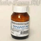 Препарат (лекарство): Мидантан на сайте Фармацевтическая Web-энциклопедия