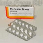Препарат (лекарство): Моносан на сайте Фармацевтическая Web-энциклопедия