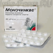 Препарат (лекарство): Моночинкве на сайте Фармацевтическая Web-энциклопедия