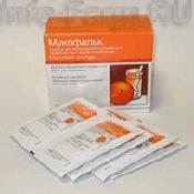 Препарат (лекарство): Мукофальк апельсин на сайте Фармацевтическая Web-энциклопедия
