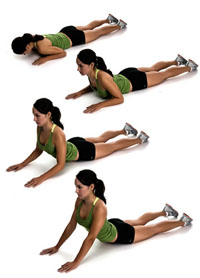 Упражнения, облегчающие боли в спине