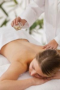 Аюрведический масляный массаж