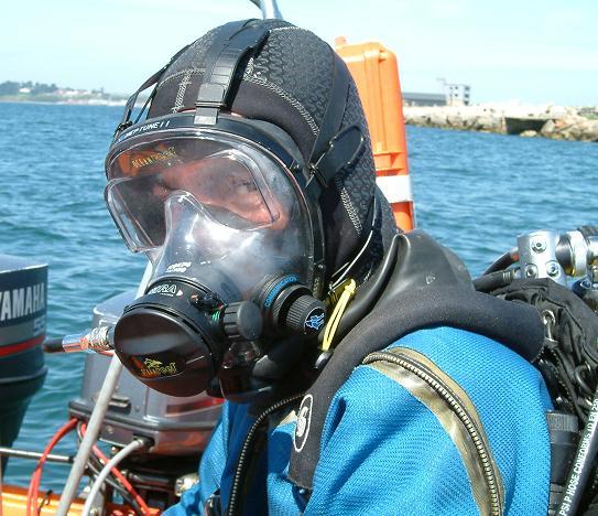 Маска подводное плавание