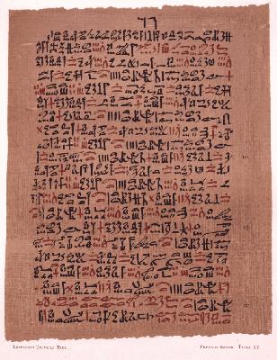 Папирус Эберса