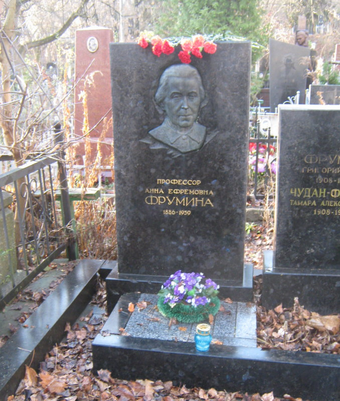 Фрумина Анна Ефремовна