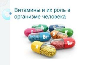 Photo of Роль витаминов в организме человека