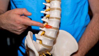Photo of Симптомы и лечение грыжи позвоночника