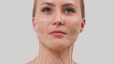 Photo of Кинезио тейп для лица в косметологии
